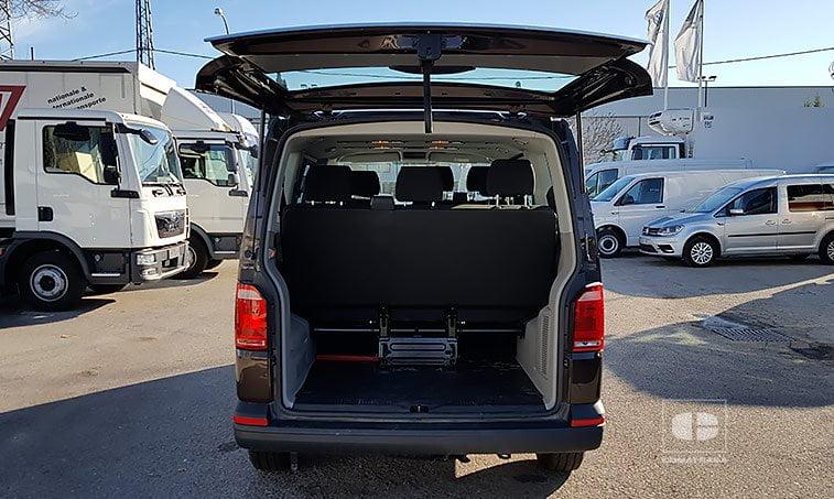 maletero VW Caravelle Trendline 2.0 TDI 102 CV