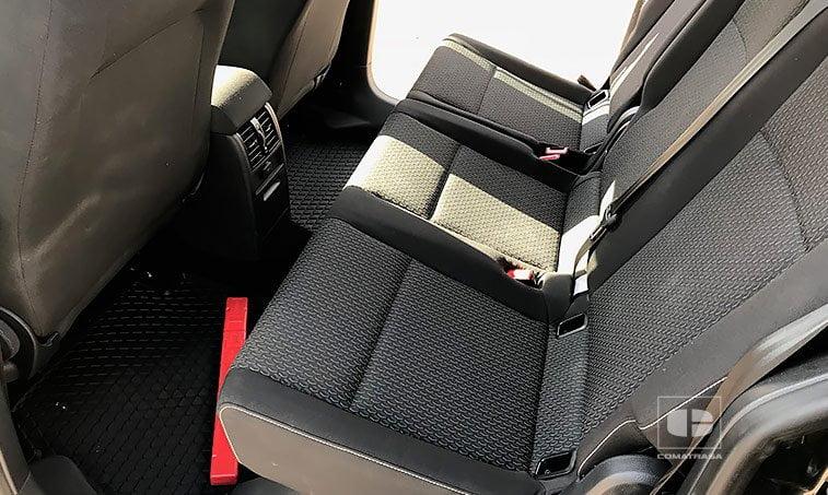 asientos VW Caddy Trendline 2.0 TDI 102 CV Mixto Adaptable
