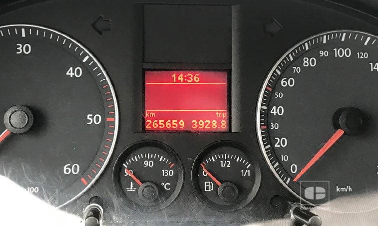 kilómetros VW Caddy 2.0 SDI 70 CV Furgoneta
