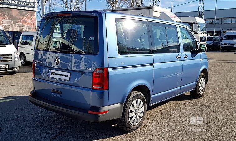 lateral derecho VW Caravelle Trendline 102 CV 2.0 TDI Batalla Corta
