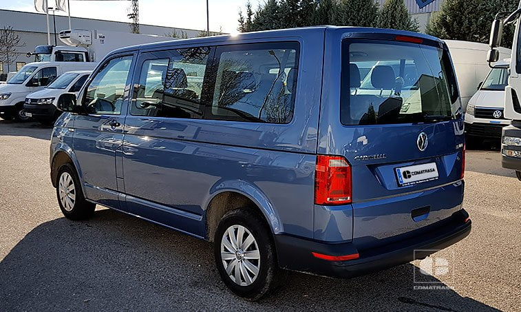 lateral izquierdo VW Caravelle Trendline 102 CV 2.0 TDI Batalla Corta