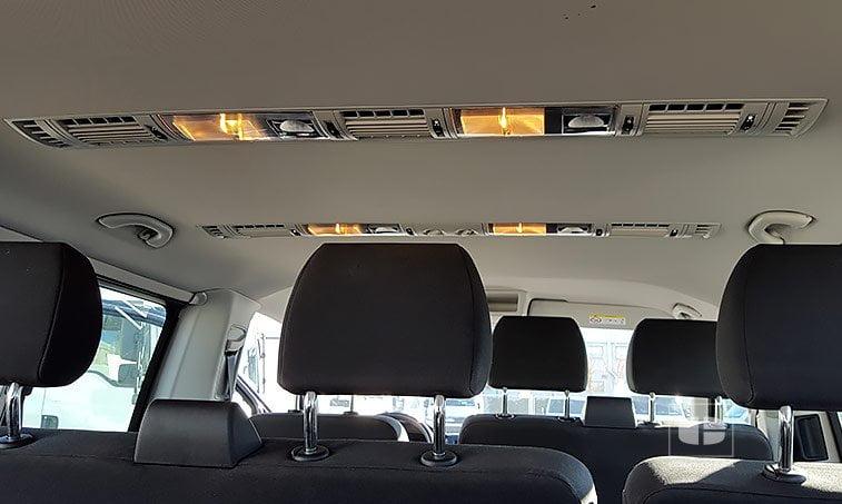 VW Caravelle Trendline 102 CV 2.0 TDI Batalla Corta clima