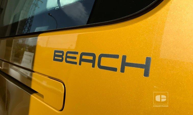 VW Caddy Maxi Beach