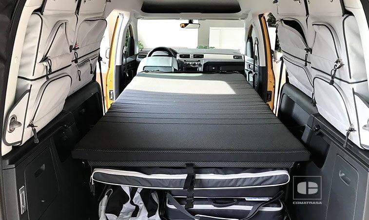 cama plegable VW Caddy Maxi Beach 2.0 TDI 102 CV