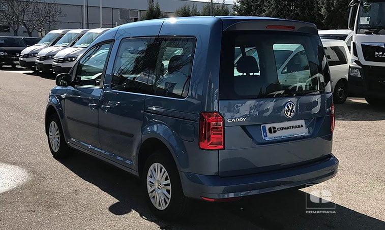 lateral izquierdo VW Caddy Trendline 2.0 TDI 102 CV 2017