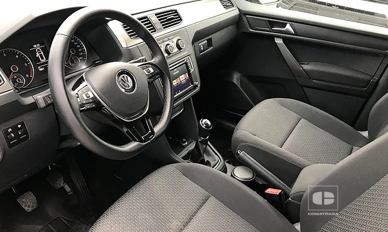 asientos VW Caddy Trendline 2.0 TDI 102 CV 2017
