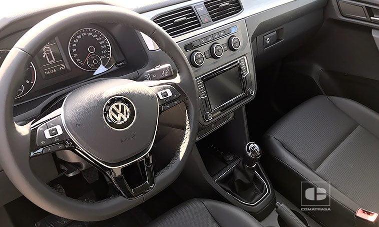 interior Volkswagen Caddy Trendline 2.0 TDI 102 CV Mixto