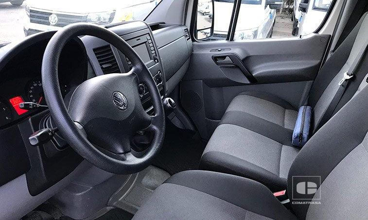 asientos VW Crafter 2.0 TDI 136 CV Furgoneta