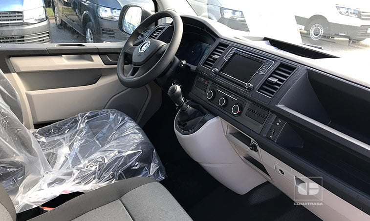 asientos VW Transporter BL 2.0 TDI 150 CV Furgón
