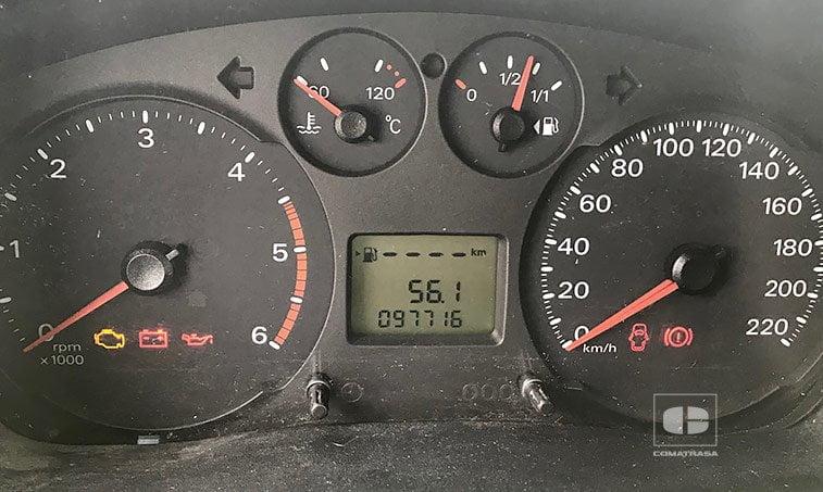 kilómetros Ford Transit TT 350 L 2.4 TDCI 140 CV Trampilla Elevadora