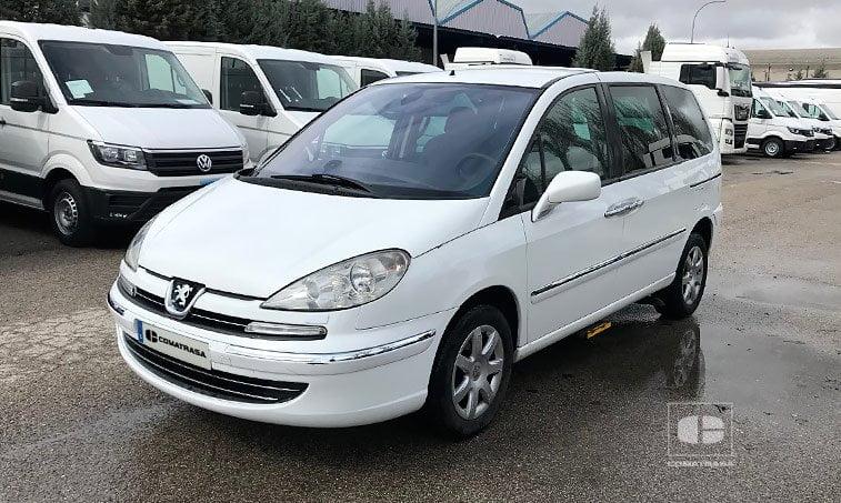 Peugeot 807 2.0 HDI 120 CV adaptado discapacitados