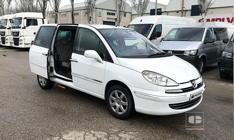 Peugeot 807 2.0 HDI 120 CV adaptado personas movilidad reducida