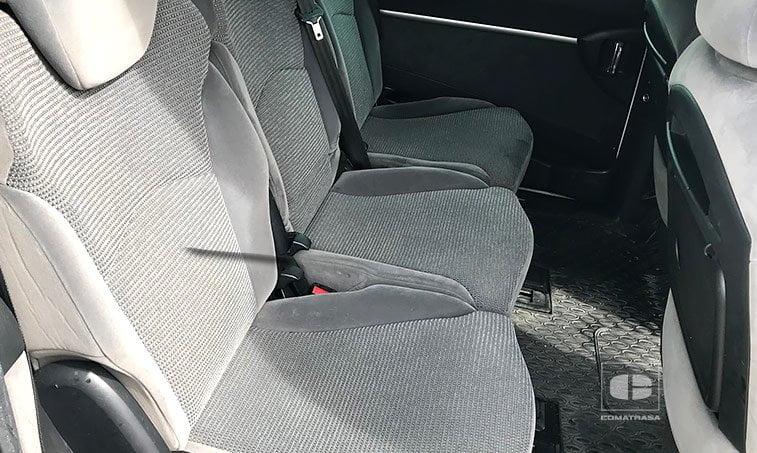 asientos traseros Peugeot 807 2.0 HDI 120 CV adaptado discapacitados