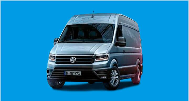 Renting Volkswagen Crafter