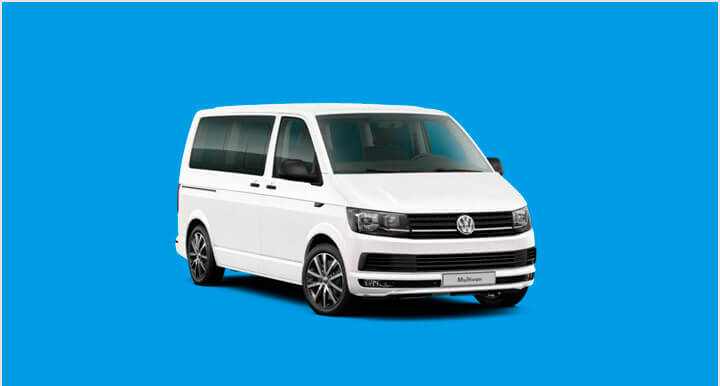 Renting Volkswagen Multivan