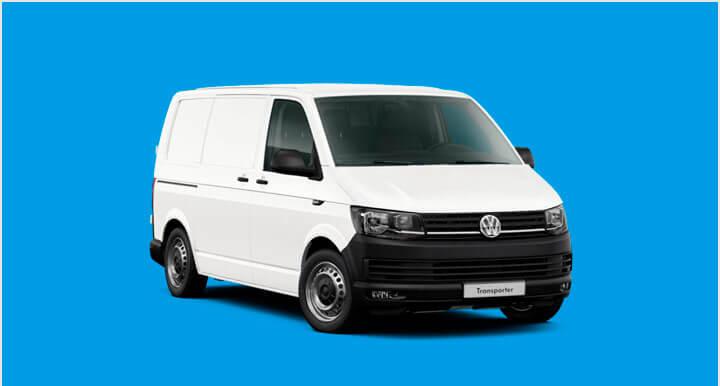 Renting Volkswagen Transporter T6