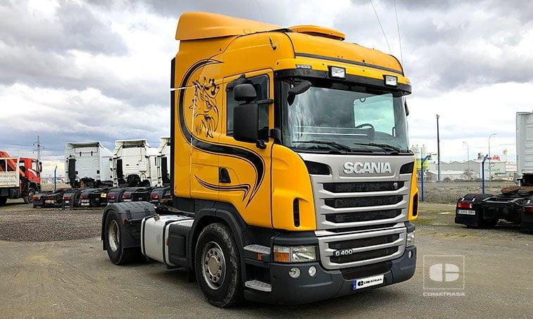 Scania G400 LA 4x2 MNA Cabeza Tractora 2010