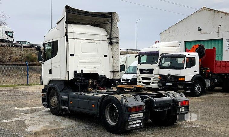 lateral izquierdo SCANIA R 480 LA4X2MNA Cabeza Tractora