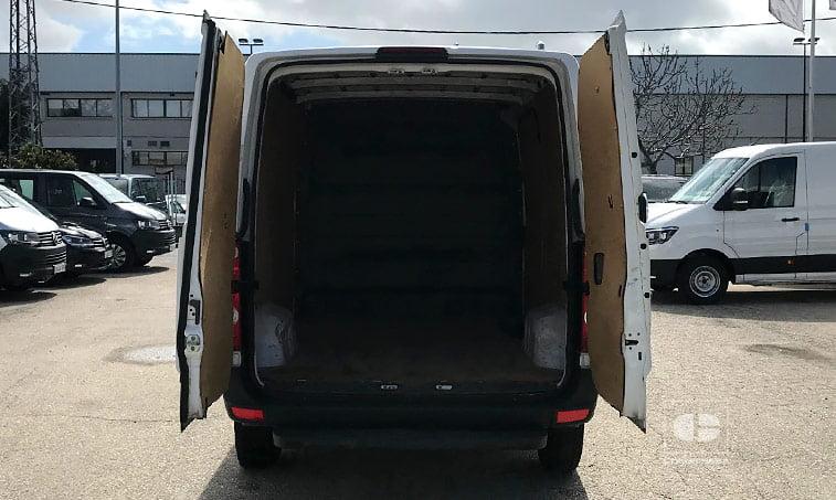 zona de carga VW Crafter Furgón 2.0 TDI 109 CV