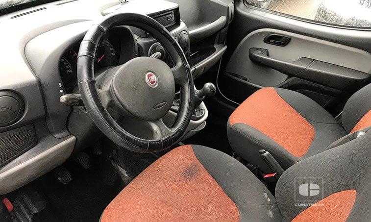 interior Fiat Doblo 1.9 JTD 105 CV Furgoneta Comercial