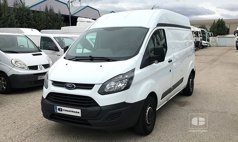 ford transit custom van 290 2 2 tdci 105 cv 2014 comatrasa. Black Bedroom Furniture Sets. Home Design Ideas