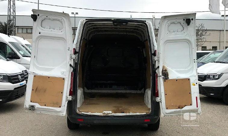 zona de carga Ford Transit Custom Van 290 2.2 TDCI 105 CV