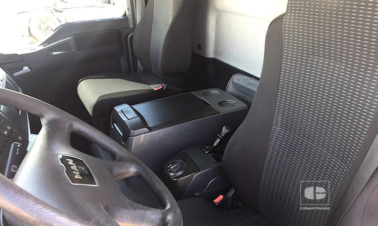 asientos MAN TGL 12180 4x2 BB Camión con trampilla elevadora