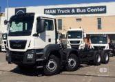 MAN TGS 35360 8x4 BB Cabina M