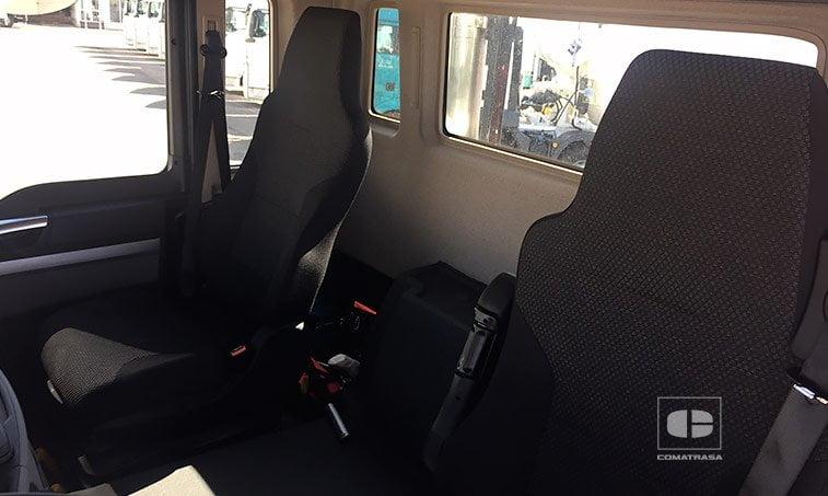 asientos MAN TGS 35360 8x4 BB Cabina M