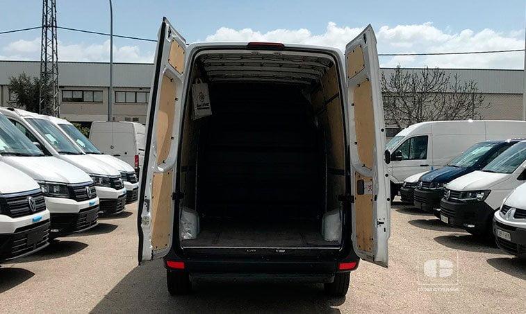 zona de carga Mercedes-Benz Sprinter 316 2.2 CDI 130 CV Techo Elevado