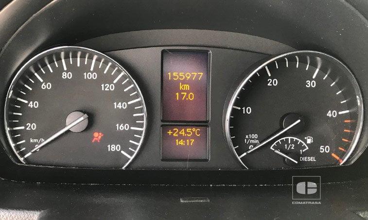 kilómetros Mercedes-Benz Sprinter 316 2.2 CDI 130 CV Techo Elevado