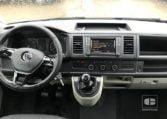 interior VW Caravelle Trendline 2.0 TDI 114 CV Batalla Larga 2018