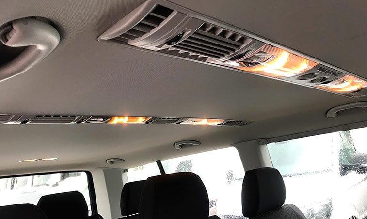 calefacción adicional VW Caravelle Trendline 2.0 TDI 114 CV Batalla Larga 2018