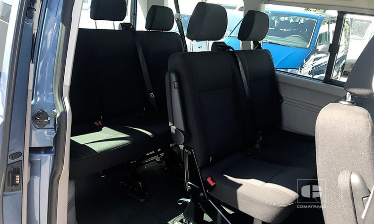 asientos VW Caravelle Trendline Cambio DSG 2.0 TDI 150 CV