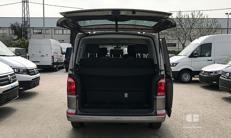 maletero VW Multivan The Original 2.0 TDI 150 CV DSG 2018
