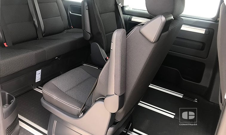 asientos giratorios VW Multivan The Original 2.0 TDI 150 CV DSG 2018