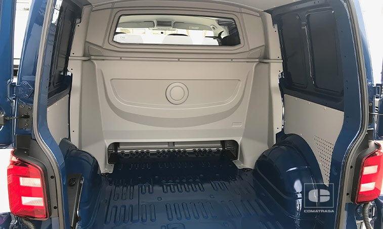 zona de carga VW Transporter T6 Mixto Plus 2.0 TDI 102 CV 2018