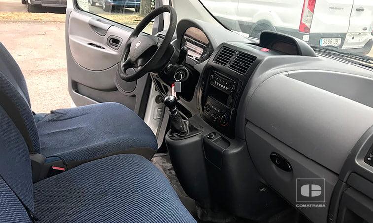 asientos Fiat Scudo 120 MultiJet 2.0 MJT 120 CV
