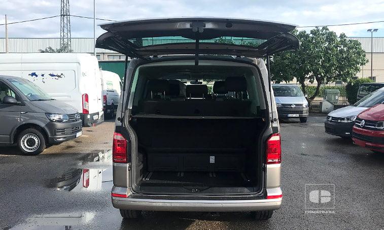 maletero Volkswagen Multivan Outdoor 2.0 TDI 150 CV DSG