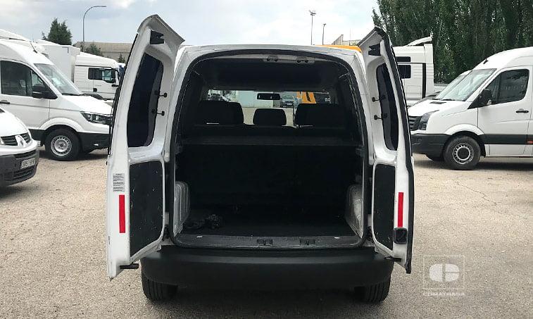 maletero VW Caddy 1.6 TDI 102 CV Furgoneta Ocasión 2011