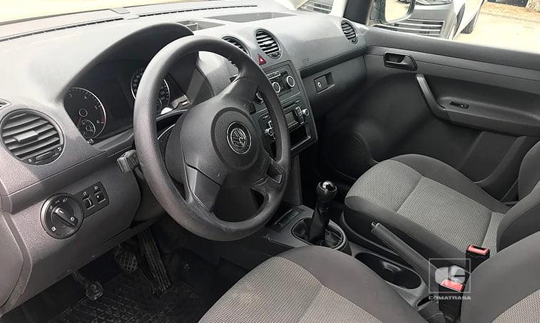 interior VW Caddy 1.6 TDI 102 CV Furgoneta Ocasión 2011