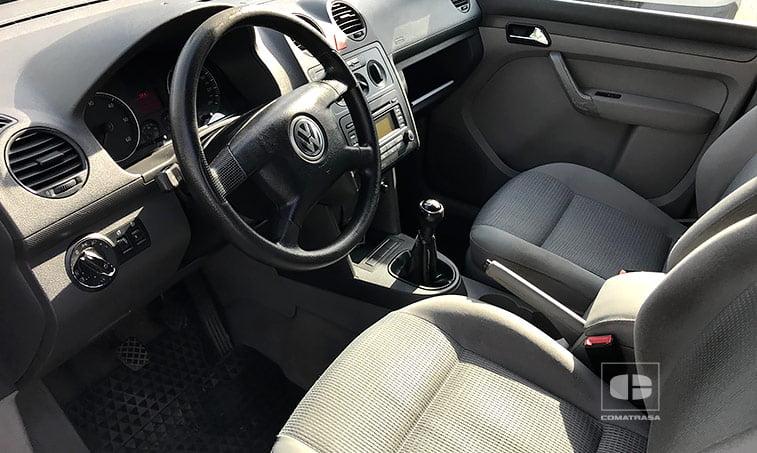 asientos VW Caddy 1.9 TDI 105 CV Mixto 5 plazas 2005