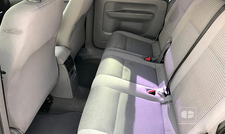 asientos traseros VW Caddy 1.9 TDI 105 CV Mixto 5 plazas 2005