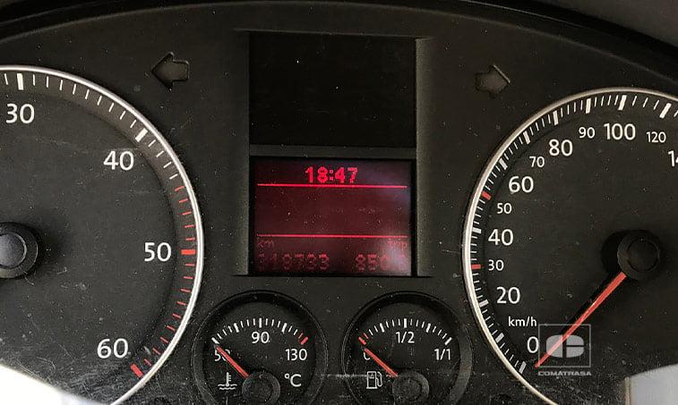 kilómetros VW Caddy 1.9 TDI 105 CV Mixto 5 plazas 2005