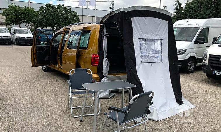 lateral izquierdo VW Caddy Maxi Beach 2.0 TDI 102 CV