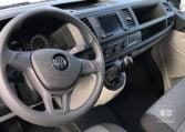 interior VW Transporter 2.0 TDI 102 CV Batalla Corta 2018