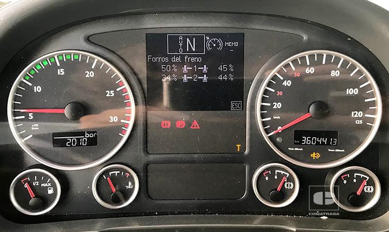 kilómetros MAN TGA 18440 4x2 BLS Cabeza Tractora (2007)