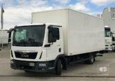MAN TGL 8180 4x2 BL Camión Caja Cerrada Trampilla 2015