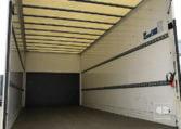 zona de carga MAN TGL 8180 4x2 BL Camión Caja Cerrada Trampilla 2015