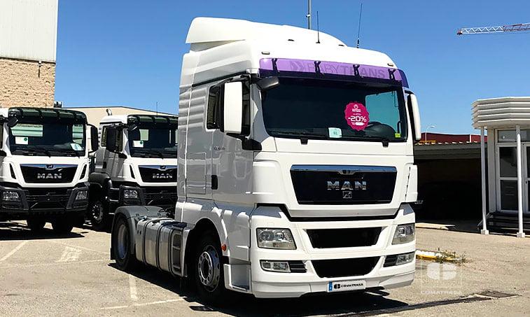 MAN TGX 18.440 4X2 BLS Tractora (2011)